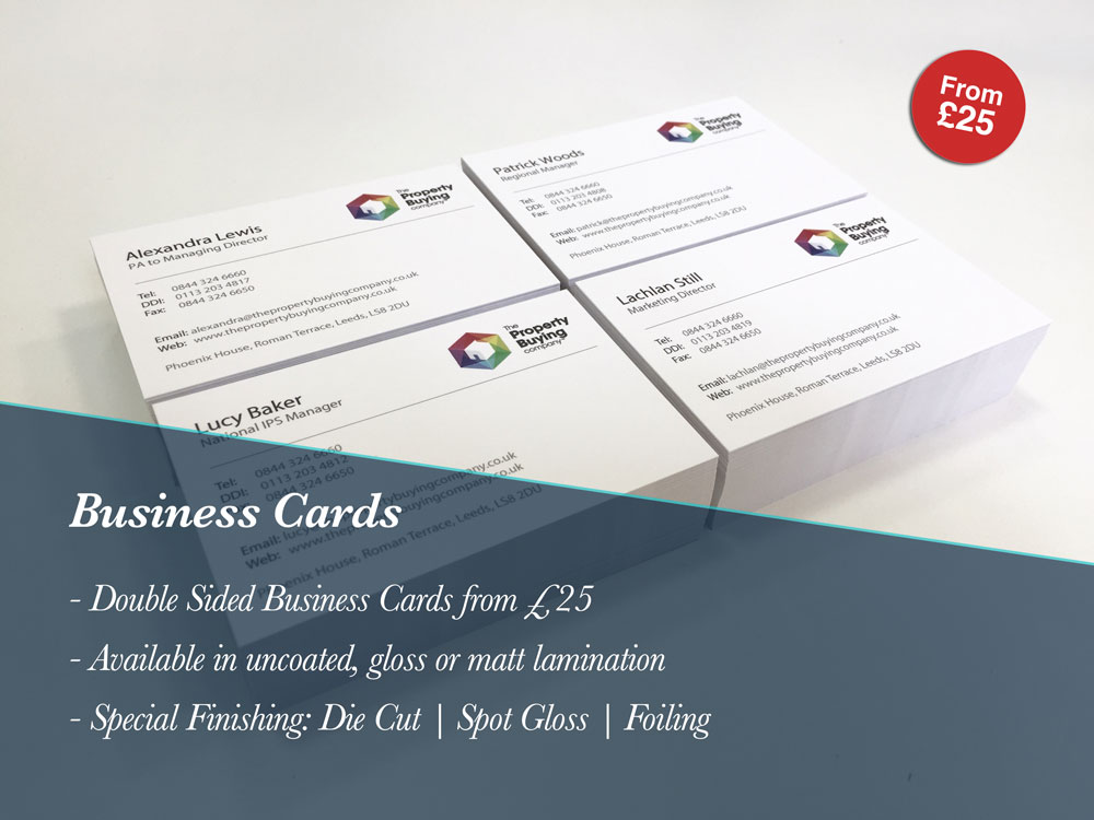 Business Card Printing Leeds Printing pany