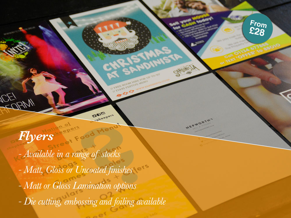 Flyer Printing Leeds