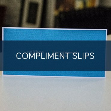Printed Compliment Slips