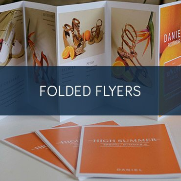Printed Folded Flyers