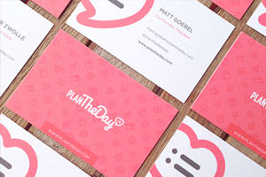 Business cards Printed double sided leeds