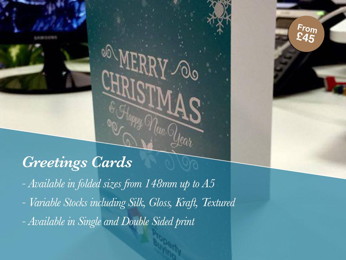 Printed Greetings Cards