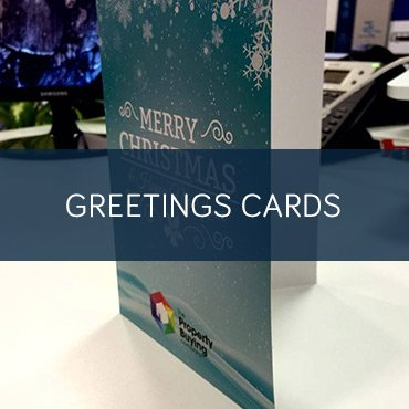 Printed Greetings Cards